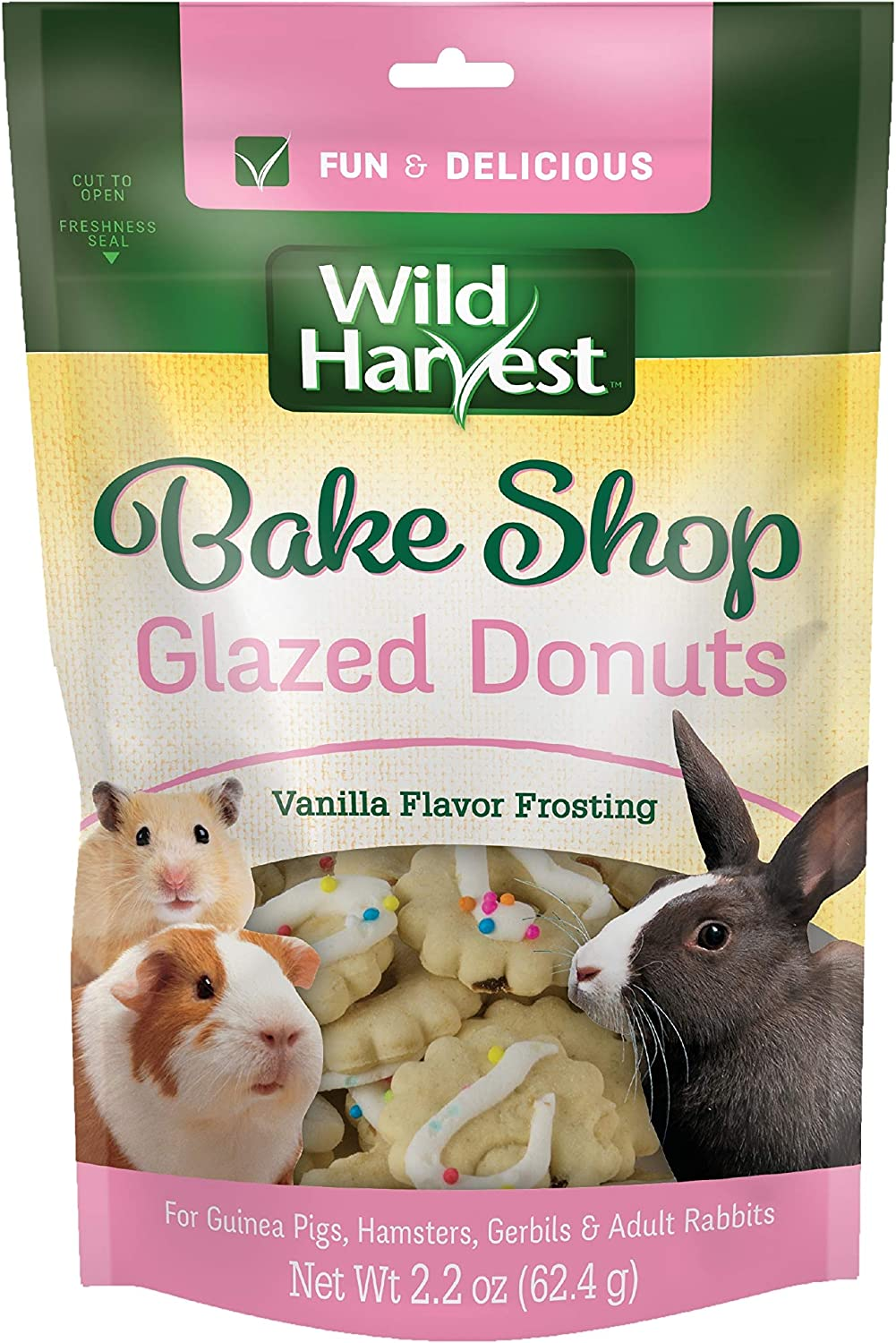 Wild Harvest - Hamster, Gerbil, Guinea Pig - Food and Treats