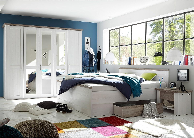 möbelando Schlafzimmer Komplett-Set Schlafzimmerprogramm