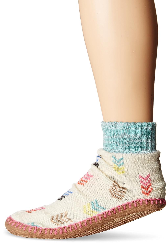 MUK LUKS womens standard Muk Luks Women's Short Slipper Socks