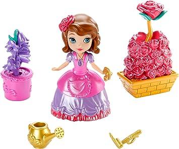 Amazon.es: Princesa Sofía - Muñeca con Accesorios de jardín mágico (Mattel CHJ70): Juguetes y juegos