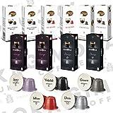 100 capsules de café compatibles Nespresso® (Variété)