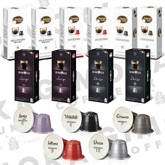 27 opinioni per Gimoka Capsule Caffè Compatibili Nespresso Gusto Lungo- 10 Confezioni da 10