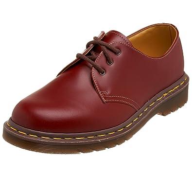 suche nach neuesten großes Sortiment online Dr. Martens 1461 Vintage Quilon Cherry Red, Unisex Adults ...