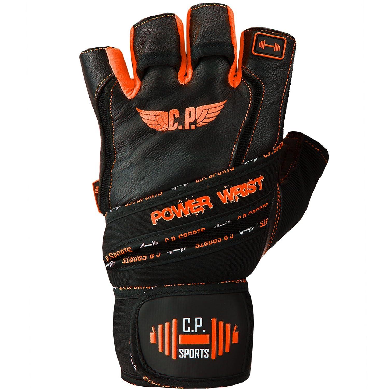 C.P lhalt/érophilie Solide avec Bandage Gants dhalt/érophilie Gants de Fitness Sports Power Wrist Gants