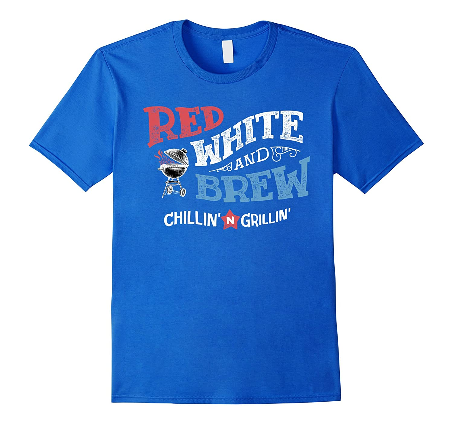 Red White and Brew – Vintage Style Beer BBQ Grill T-Shirts ... - photo#27