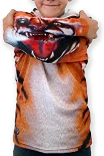 product image for MouthMan Unisex-Child Tiger Hoodie Shirt