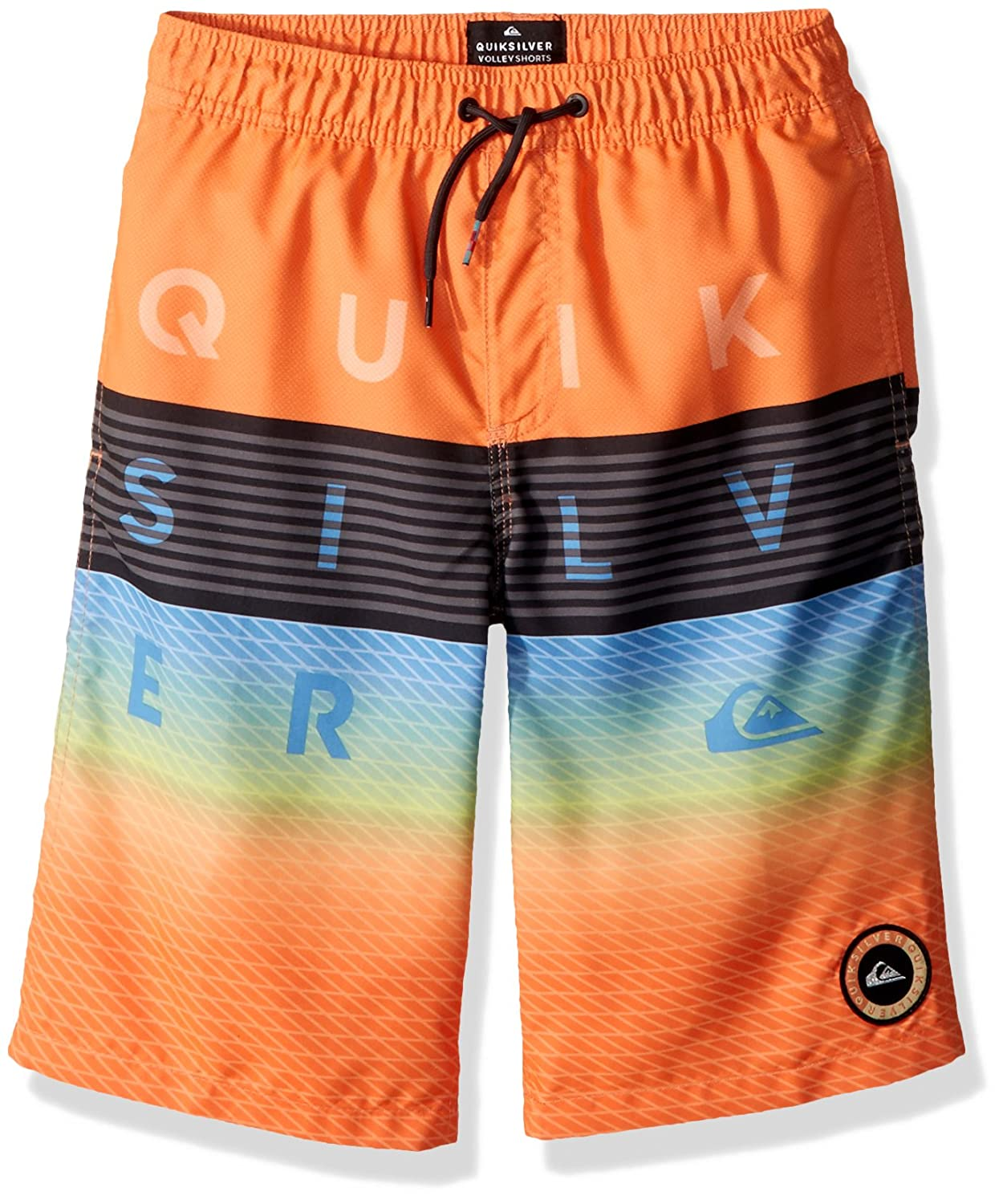 Quiksilver Boys Word Block Volley Kids Shorts