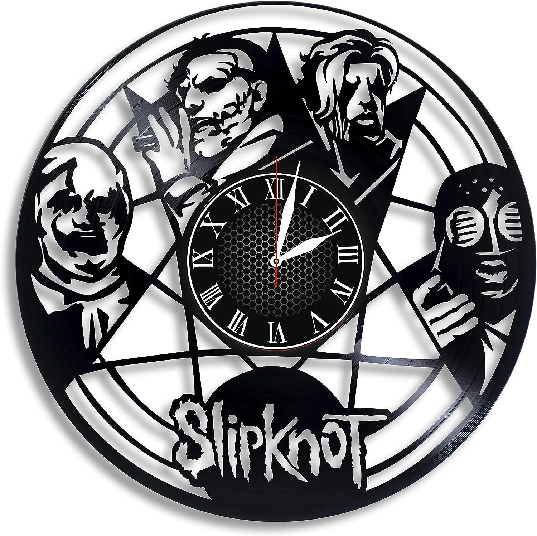 Slipknot Vinyl Wall Clock Decor Gift