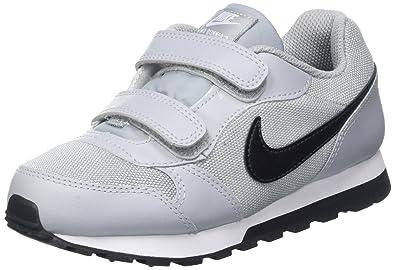 Nike Unisex-Kinder Md Runner 2 Sneaker, Schwarz  Amazon.de  Schuhe ... fa4566d695