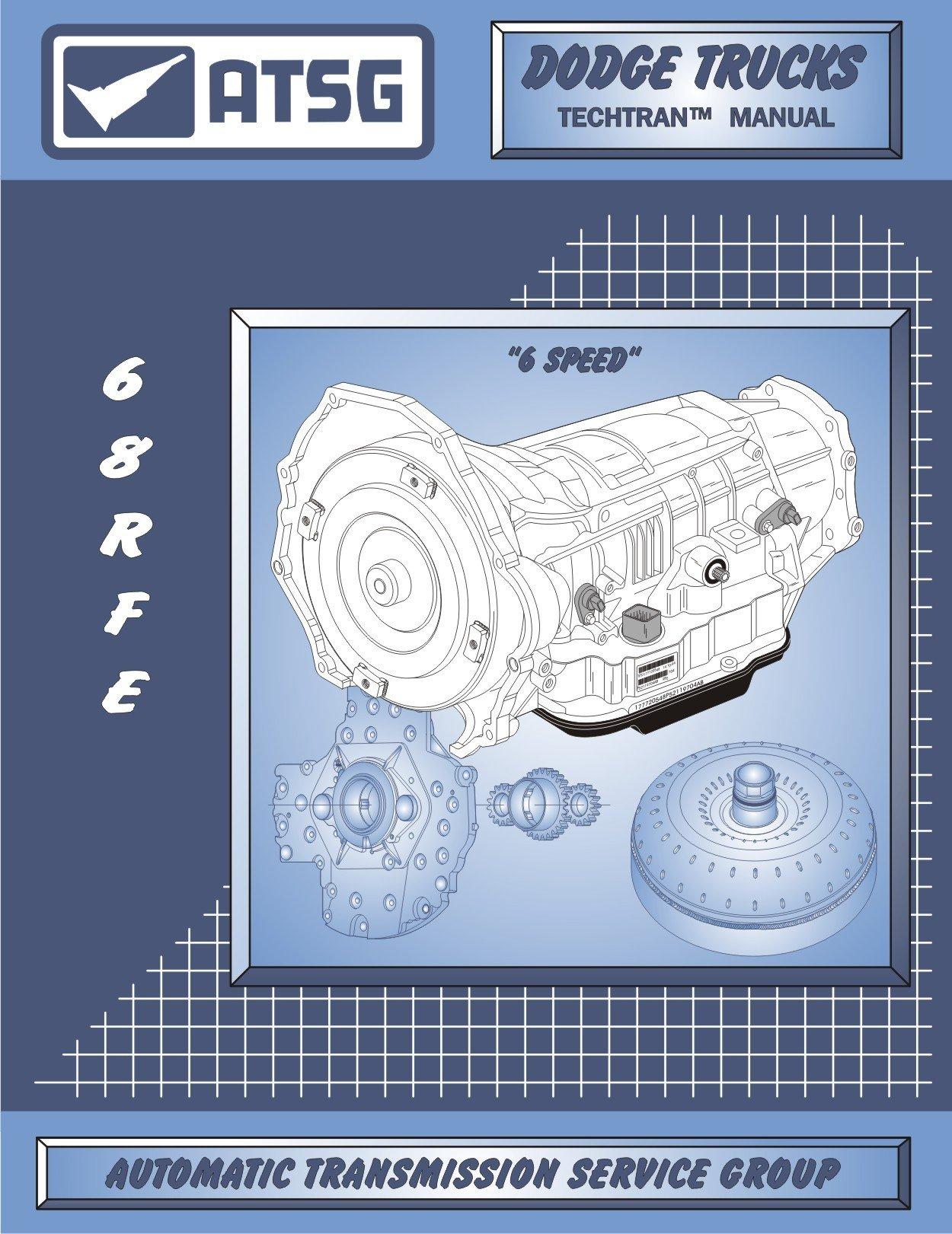 amazon com atsg 68rfe manual dodge transmission repair manual rh amazon com Dodge 6-Speed Manual Transmission Dodge Manual Transmission Diagram
