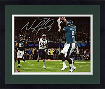 0117d1f9a Framed Nick Foles Philadelphia Eagles Super Bowl LII Champions Autographed  8 quot  x 10 quot  Philly