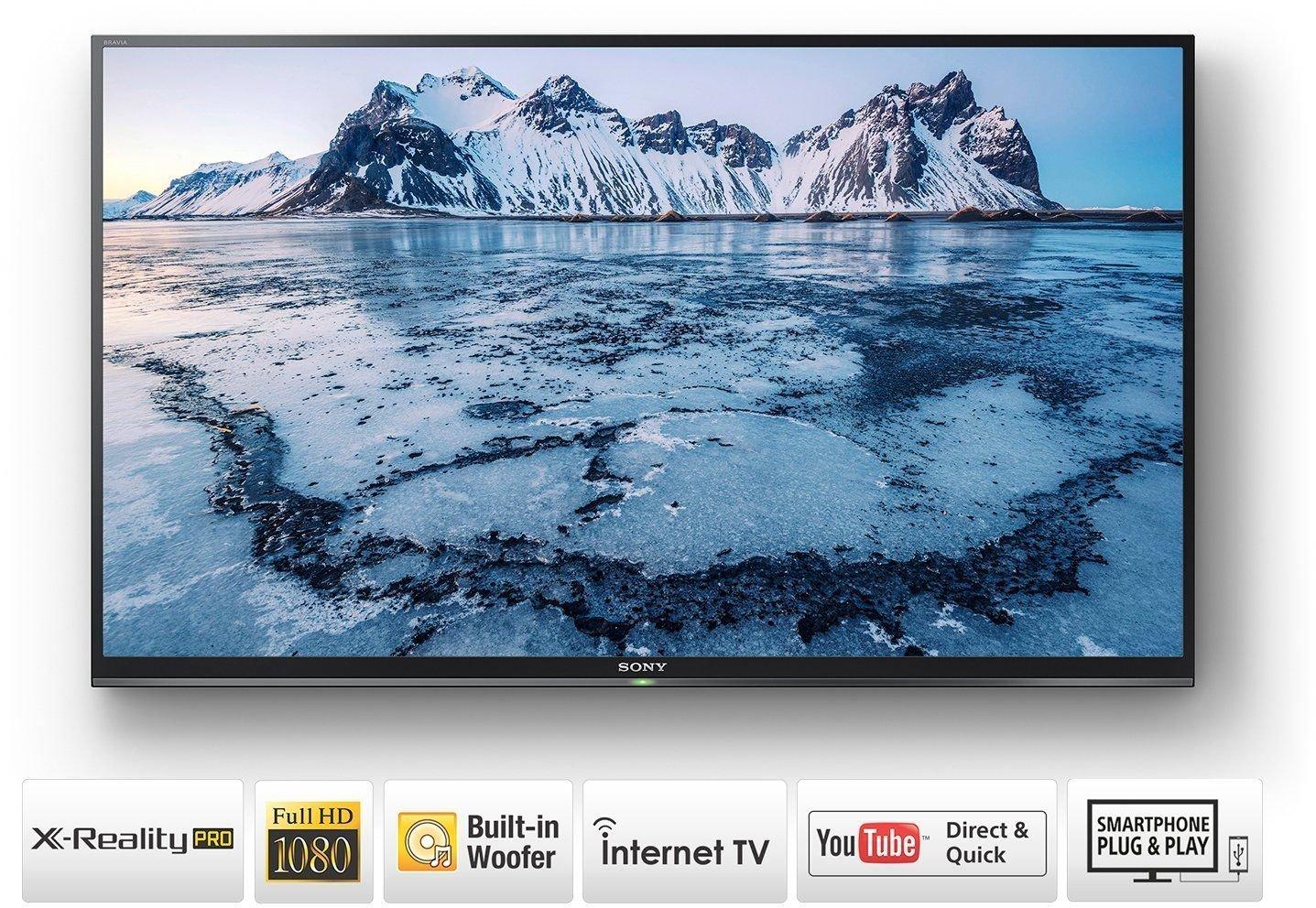Top 10 40 inch LED TVs in India - Sony KLV-40W672E Full HD LED Smart TV