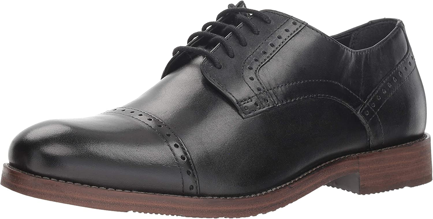 Nunn Bush Men's Middleton Cap Toe Oxford
