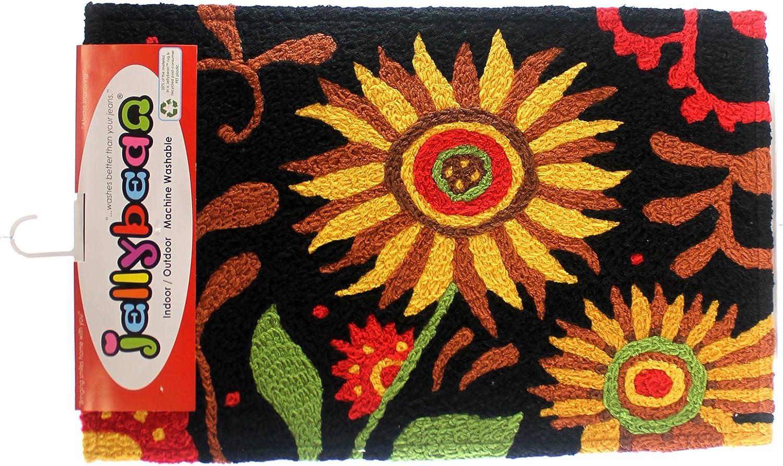 Jellybean Prairie Sunflowers Accent Area Rug