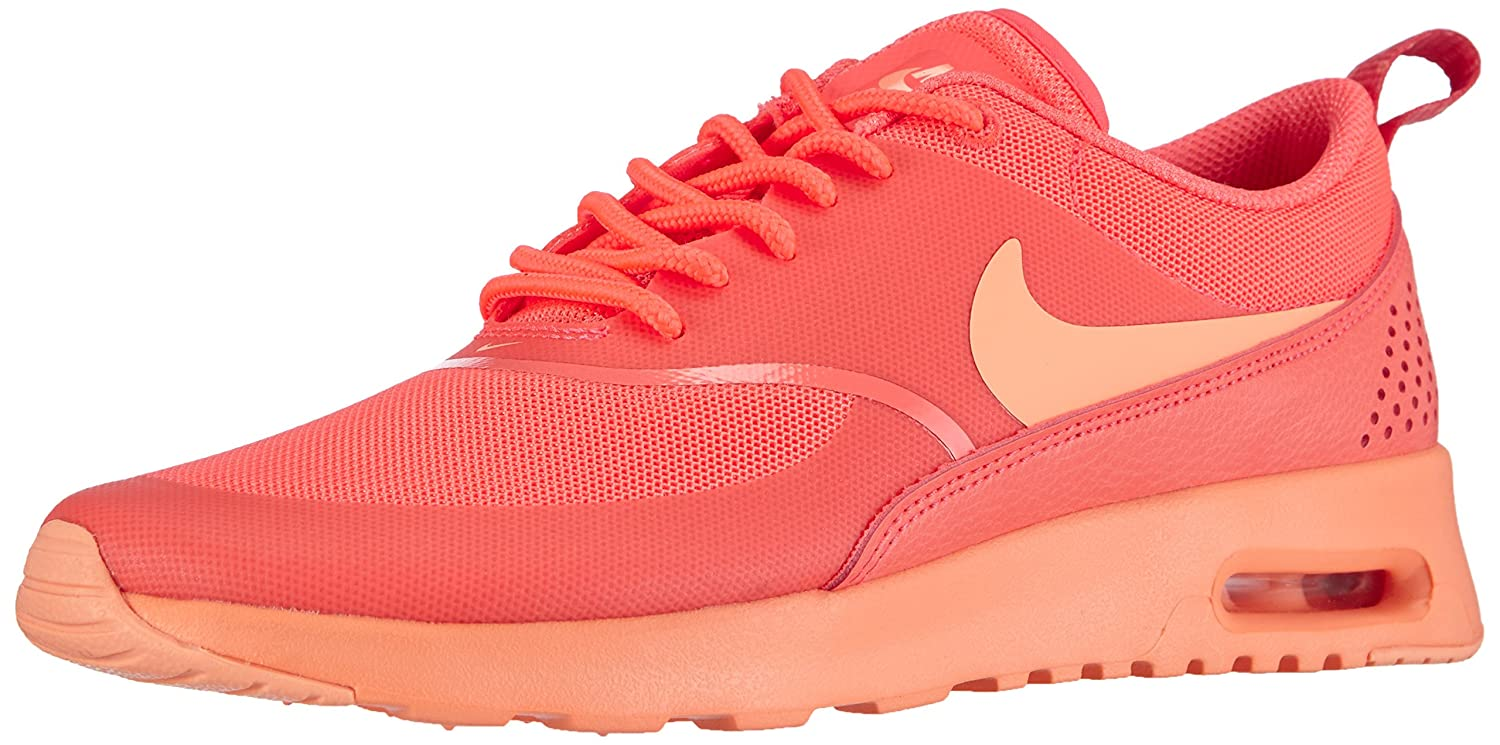 Nike Women's Air Max Thea Hot LavaSunset Glow Running Shoe 6 Women US