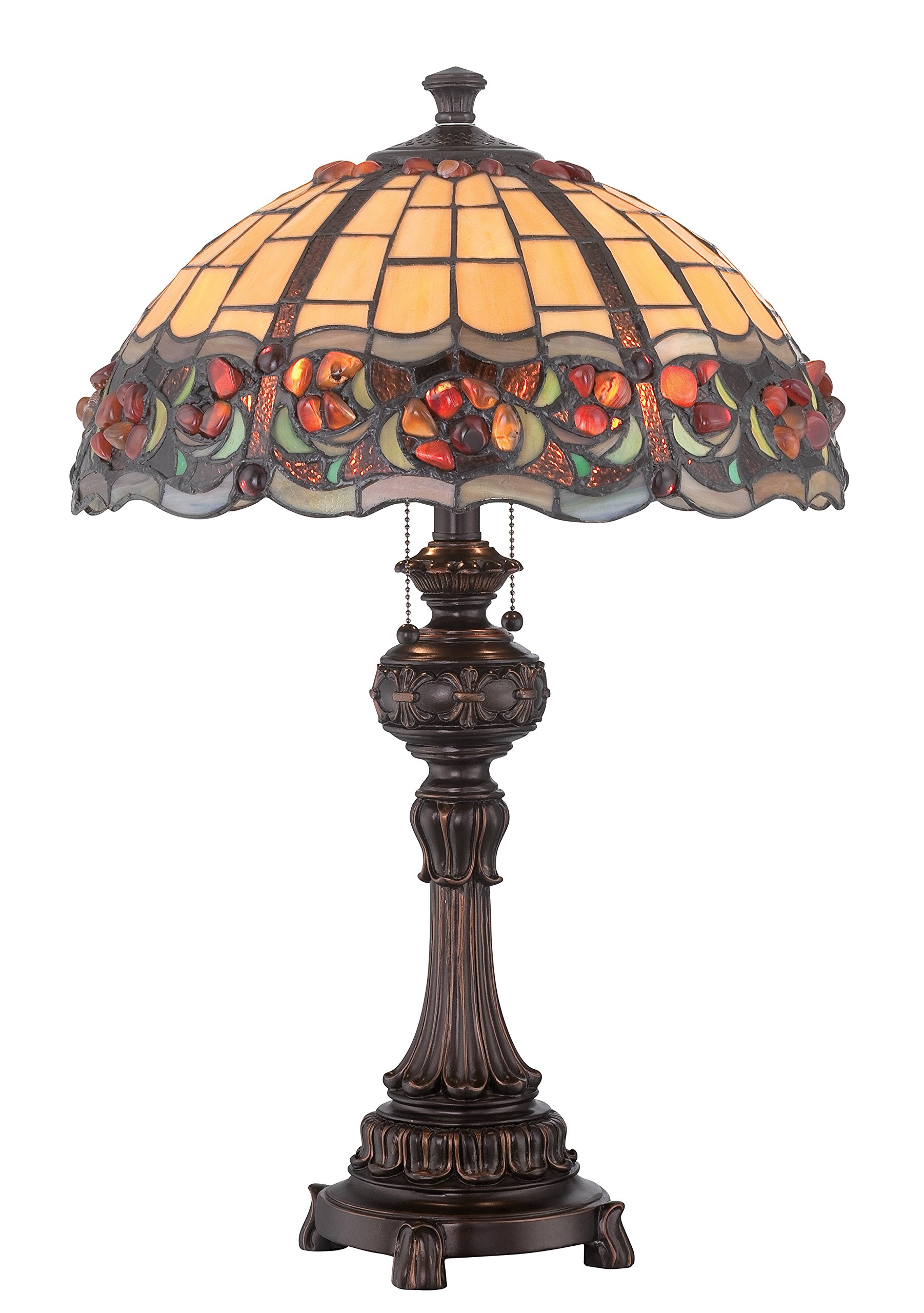 Lite Source C41341 Deana Table Lamp Deana Table Lamp, 25'' x 16'' x 16'', Dark Bronze