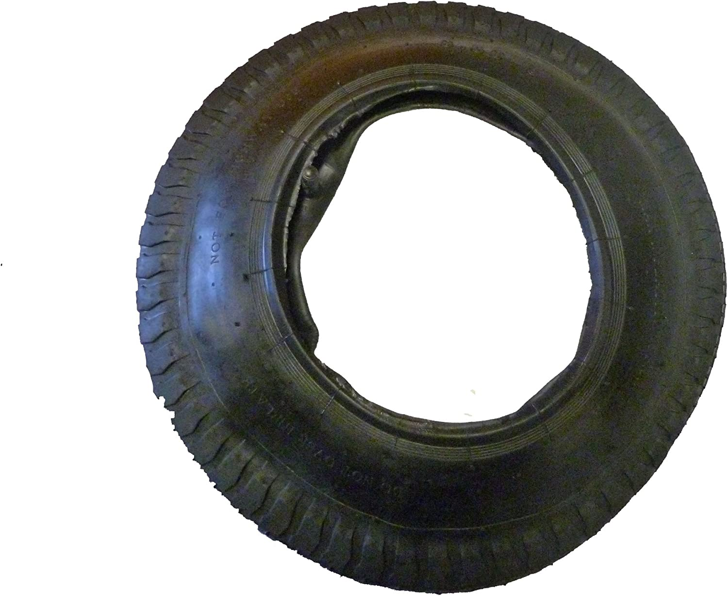 3.50-8 TYRE FOR WHEELBARROWS AND LARGE TROLLEYS NEW WITH INNER TUBE