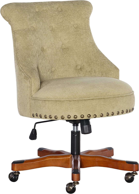 Linon Office Chair, Brown