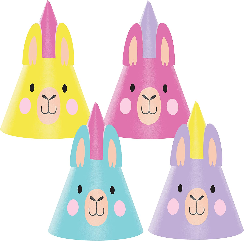 Llama Party Hats Llama Party Paper Hats Llama Hats Llama Fun Party Hats