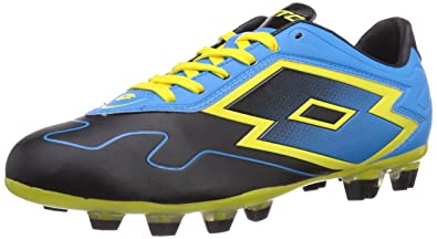 b9790c8e4 Lotto Zhero Gravity VI 300 TX FG Firm Ground Soccer Cleats (8) Black/