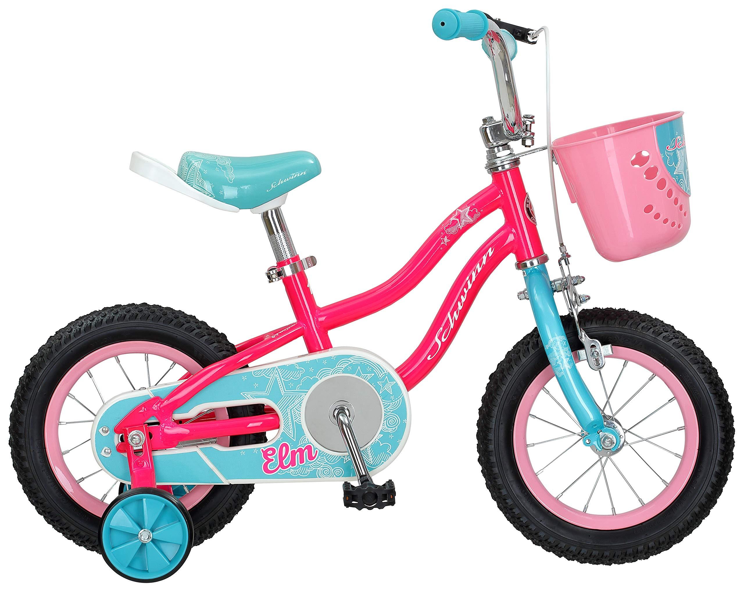 Schwinn Elm Girls Bike For Toddlers And Kids Bike Booty