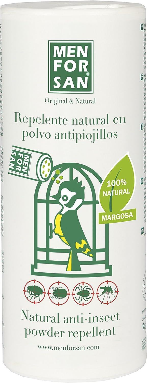 MENFORSAN Repelente Natural en Polvo Antipiojillos con Margosa - Pájaros 250 Grs