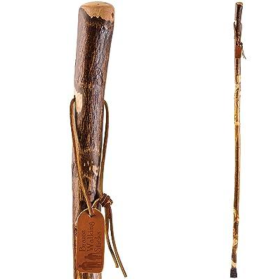 "Brazos 41"" Free Form Hawthorn Wood Walking Stick Hiking Trekking Pole"
