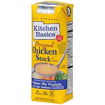 Kitchen Basics Original Chicken Stock, caldo de pollo, 8.25 ...