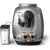 Philips HD8652/51 2100 Serie Kaffeevollautomat, Cappuccino auf Knopfdruck, silber