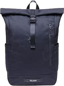 "KAUKKO Casual Daypacks&multipurpose backpacks,Outdoor Backpack,Travel Casual Rucksack,Laptop Backpack Fits 15"" (04black)"