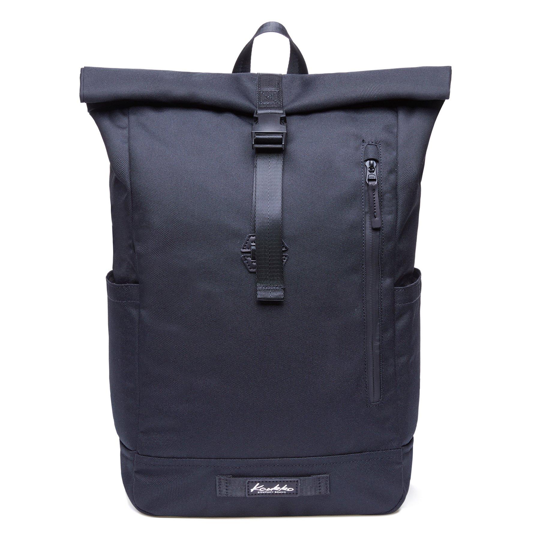 KAUKKO Casual Daypacksμltipurpose backpacks,Outdoor Backpack,Travel Casual Rucksack,Laptop Backpack Fits 15'' (04black)
