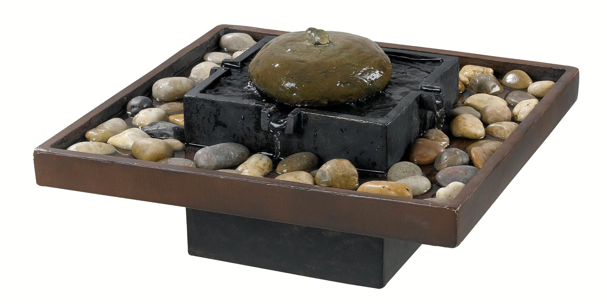 Kenroy Home 50233BRZ Bliss Indoor Table Fountain