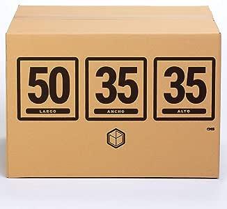 10x) Cajas para Mudanza | Caja de Cartón TeleCajas | Onda Doble ...
