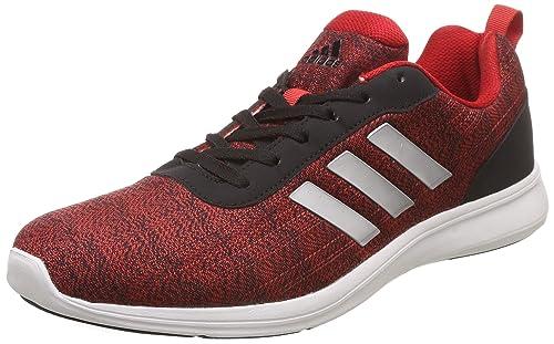 b484b5c23f5 Adidas Men's Adiray 10 M Red Running Shoes-8 UK/India (42 1/9 EU ...