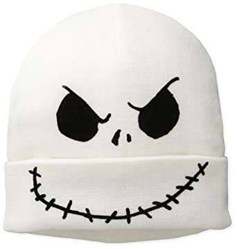 Amazon.com: Nightmare Before Christmas Men's Jack Flip Mask Beanie ...