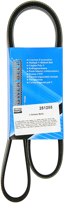 Mapco 251255 Correa trapecial poli V