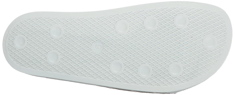 adidas Men's Adilette D(M) Slide Sandal B01N5F7Q5J 15 D(M) Adilette US|Tech Beige/Tech Beige/Linen Green 941770