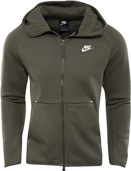 Nike Herren M NSW Tch FLC Hoodie Fz Sweatshirt: Amazon