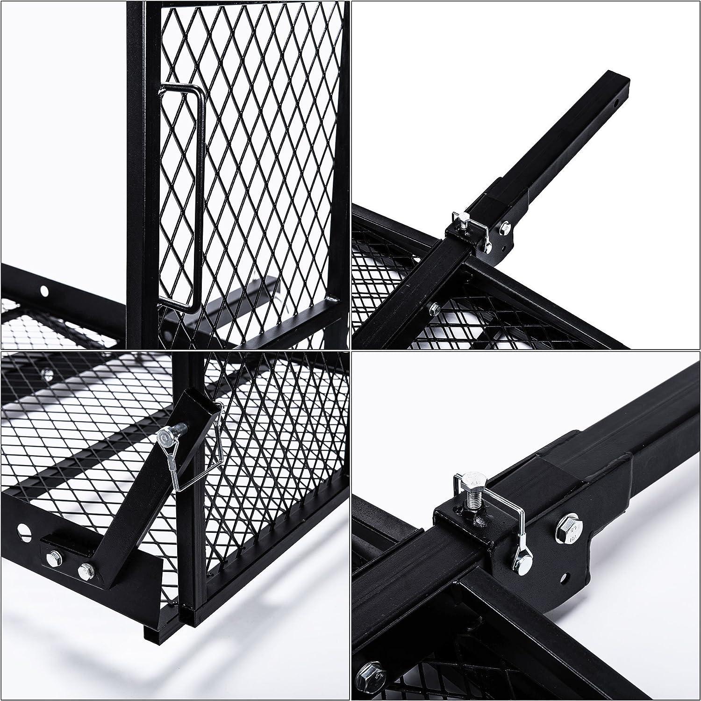 Amazon.com: Enganche montado plegable silla de ruedas ...