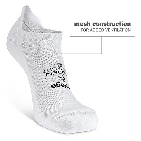 Balega Oculto Comodidad Calcetines de la Hombres – Negro, Grande/Tamaño UE 42 – 45