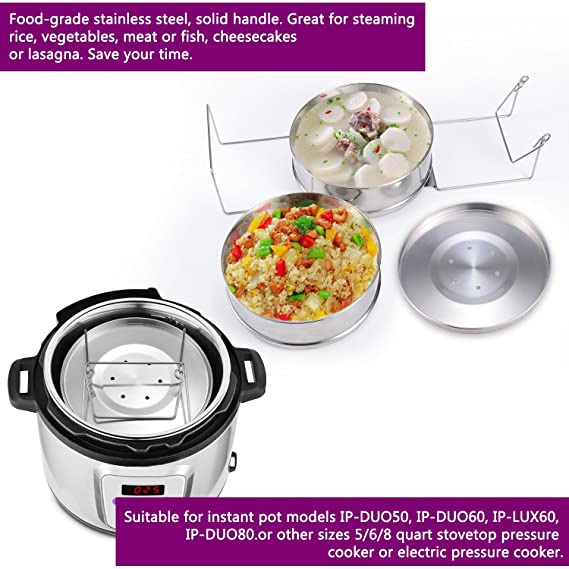 Amazon.com: KINDEN accesorios para Instant Pot – apilable ...