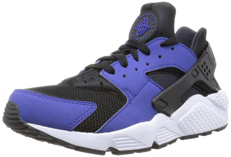 Bleu (Deep Royal bleu noir-blanc) Nike Air Huarache, Baskets Basses Homme 44 EU