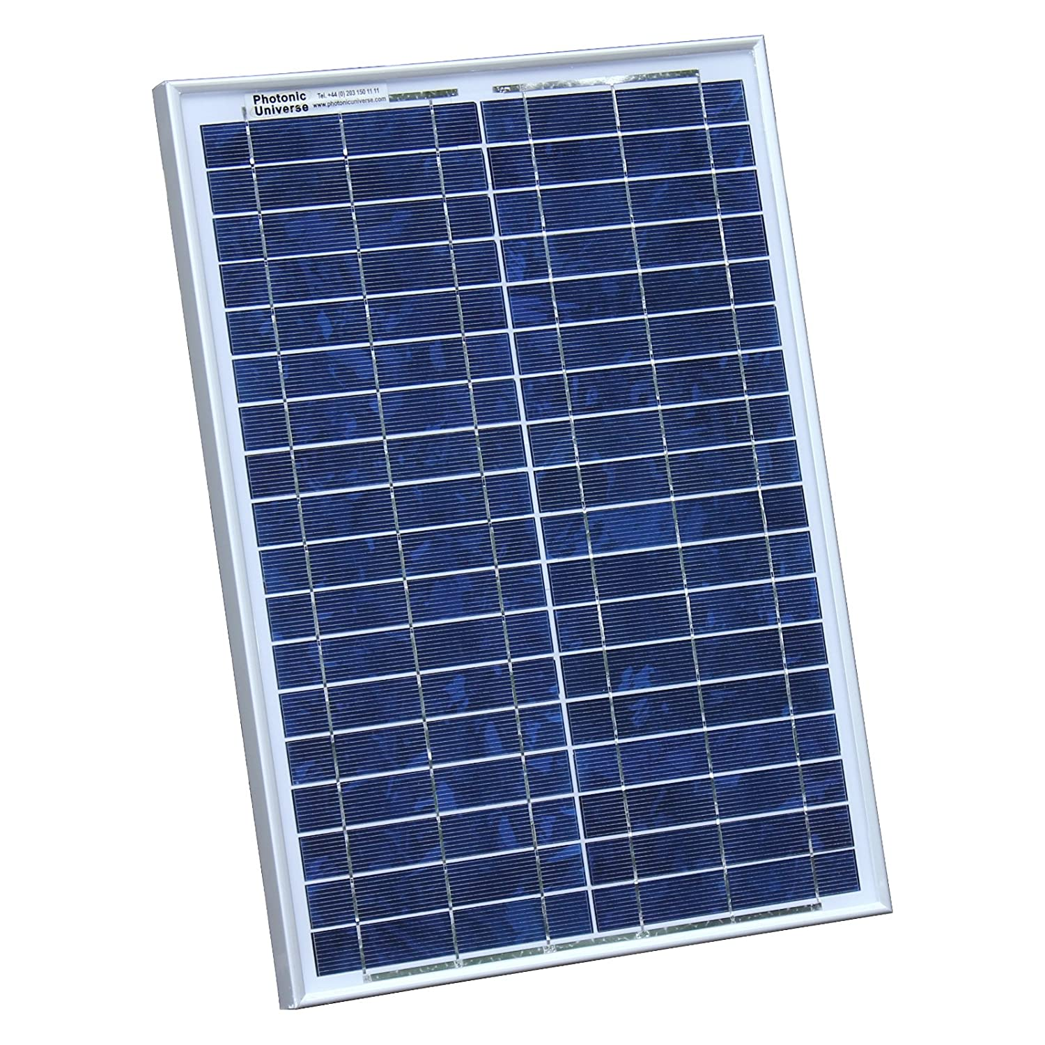 boat or any other 12V system caravan 20W Photonic Universe solar panel with 2m cable for a motorhome 20 watt campervan
