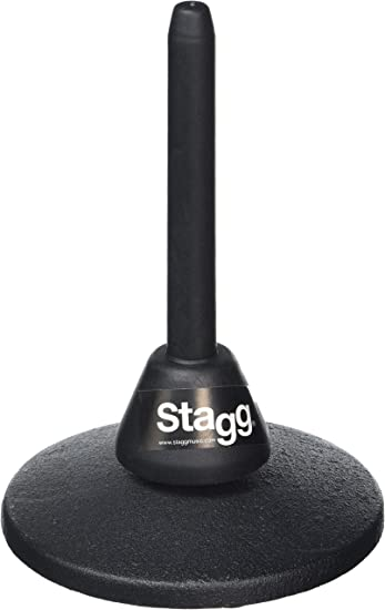 Stagg Black WISA45 ABS Support Folding Legs Foldable Flute Clarinet Stand New