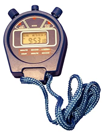 GSC International STOPWTCH-100 Digital Stopwatch with Cord and Multiple Settings (Case of 100): Amazon.com: Industrial & Scientific