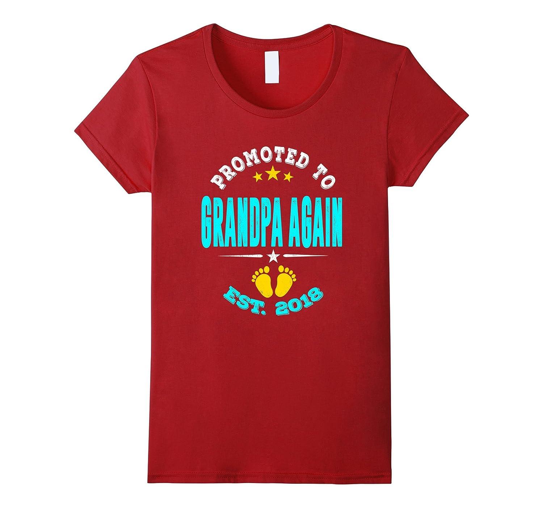 Promoted to Grandpa again 2018 Shirt-Loveshirt