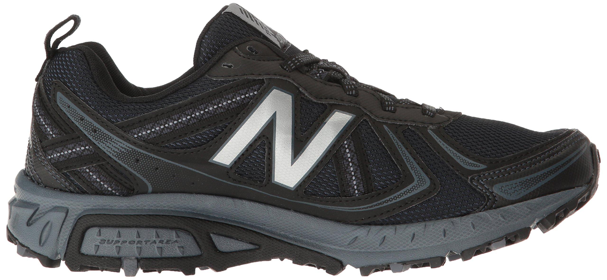 New Balance Men's MT410v5 Cushioning Trail Running Shoe, Black, 7 D US by New Balance (Image #7)