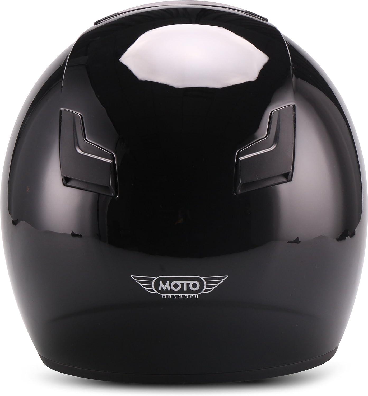 Matt Blanc 53-54cm Soxon S77 Casque Jet pour Moto XS