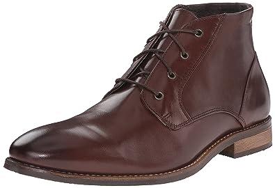 Nunn Bush Men's Hawley Plain Toe Chukka Boot, Brown, ...