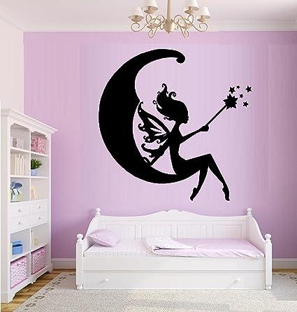 Fairy Moon Wall Decal Home Decor 20 X 21 Wall Decor Stickers